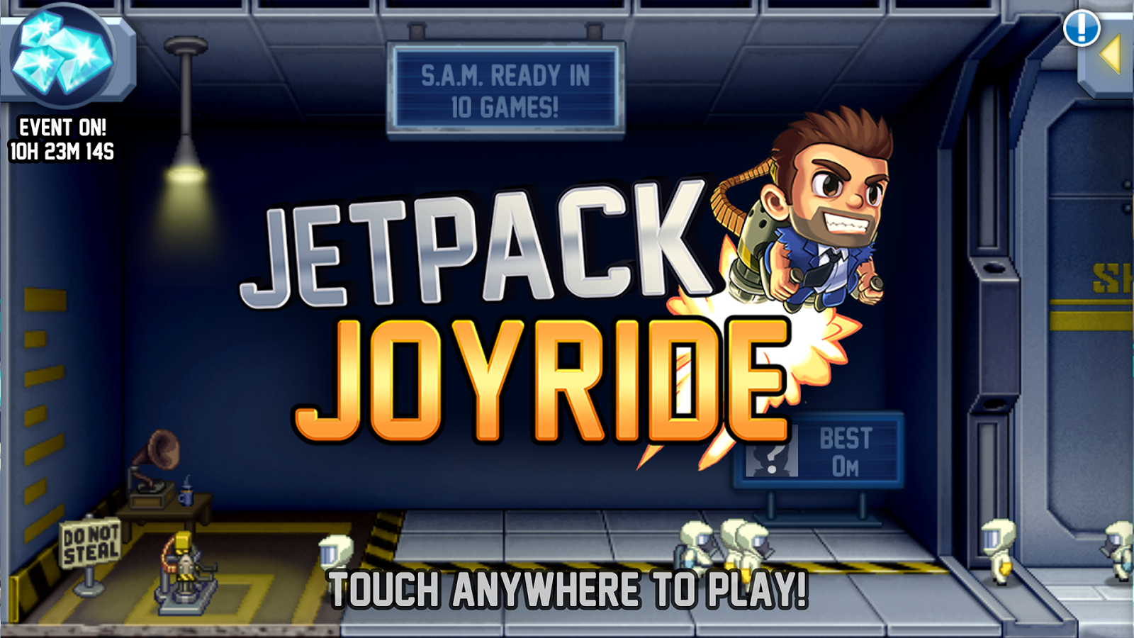 Jetpack Joyride Hacked MOD Unlimitted Coins