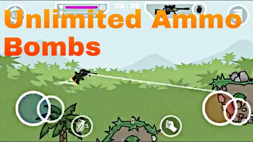 Mini militia v4.0.41 Simple Mod