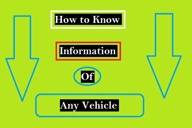 how to know details of any vehicle