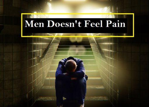 men doesn't feel pain