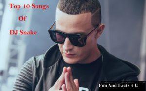 Top 10 Best Songs of DJ Snake
