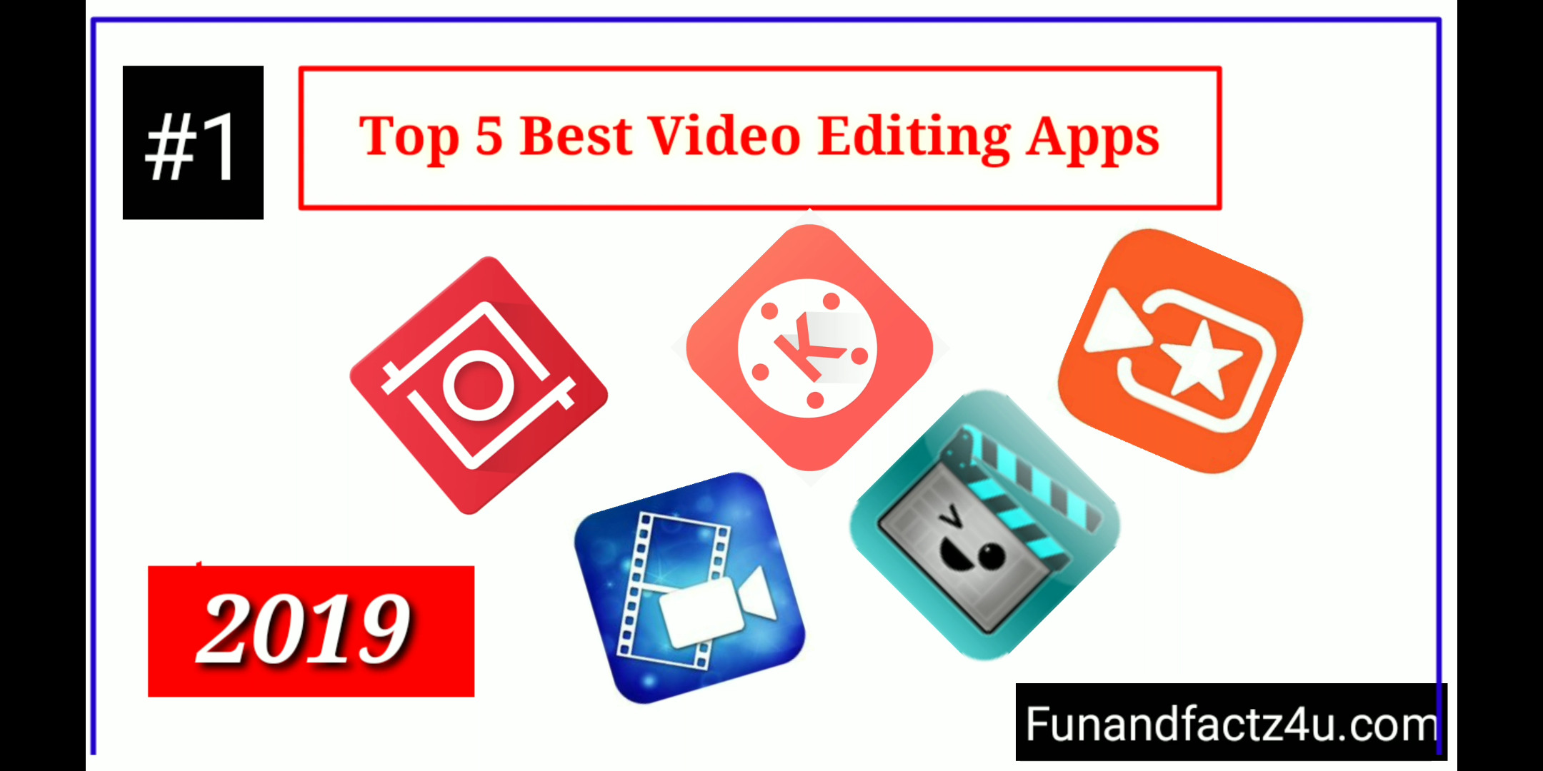 Top 5 Best Video Editing Mobile Apps in 2019